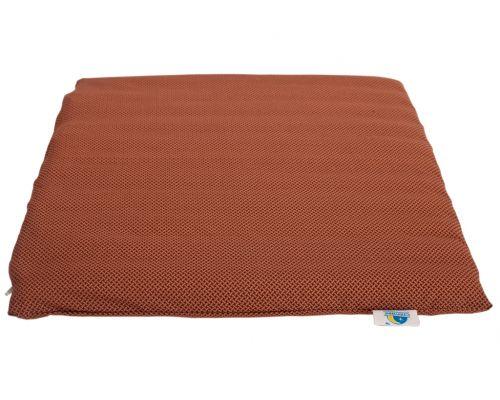 Подушка - Сидушка на стул из Гречневой лузги 45х45