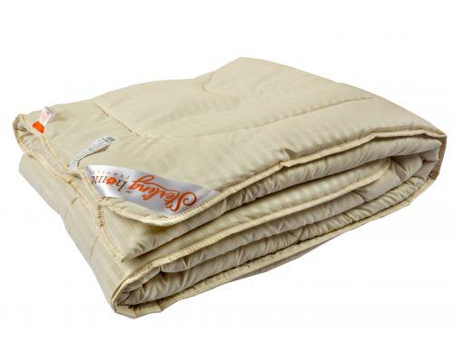 Одеяло ВЕРБЛЮЖЬЯ ШЕРСТЬ (всесезонное) Микрофибра 140x205