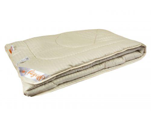Одеяло ВЕРБЛЮЖЬЯ ШЕРСТЬ (лёгкое) Микрофибра 140x205